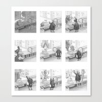A Day in the Life of A Fairy Tale Bakery Canvas Print