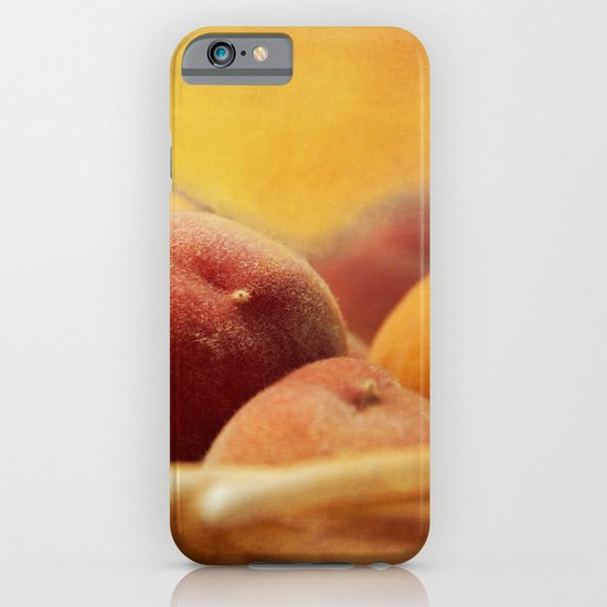 Fuzzy Peach iPhone & iPod Case