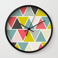 Triangulum Wall Clock