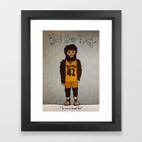 Bad Hair Day No:2 / Teen… Framed Art Print