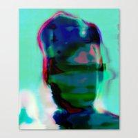 Electric Obake #25 Canvas Print