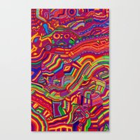 Shaping The Spectrum Canvas Print