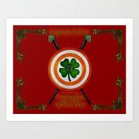 Captain Celtic Art Print