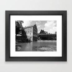 bollinger mill 4 Framed Art Print