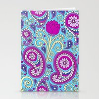 Paisley Garden Stationery Cards