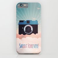iPhone & iPod Case featuring Shoot Forever by Molzography