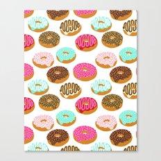Donuts Art Print Junk Fo… Canvas Print