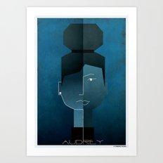 06_audrey Art Print
