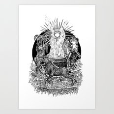 Witches Sabbath Art Print