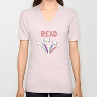 Read a book. Unisex V-Neck