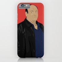 iPhone & iPod Case featuring Sopranos - Tony Soprano - Paulie Gualtieri by Lucho Margolin