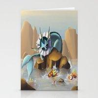 Vaporeon Stationery Cards