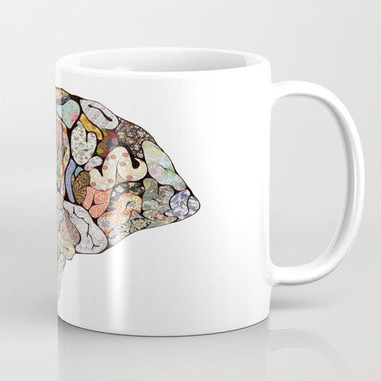my brain looks different Mug
