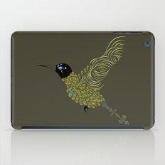 Abstract Hummingbird iPad Case