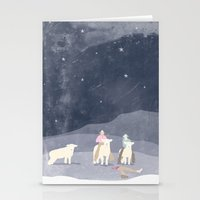 Man Eaters Stationery Cards