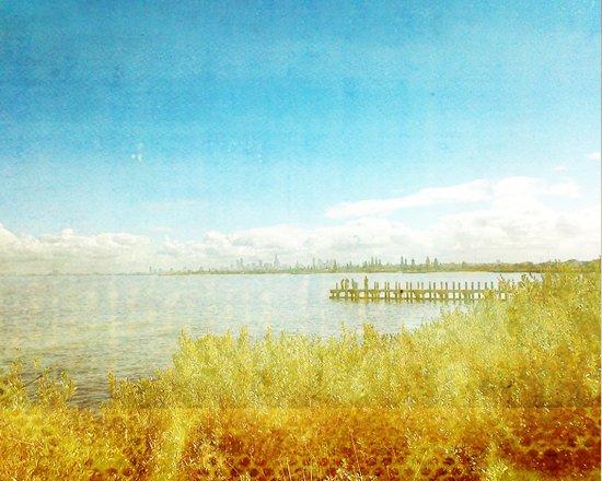 the bay _ elwood beach Art Print