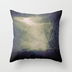 lomographic Sky 5 Throw Pillow