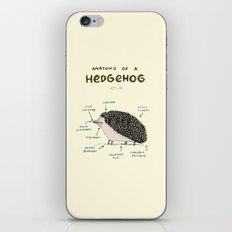 Anatomy of a Hedgehog iPhone & iPod Skin