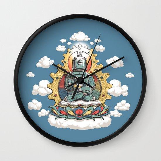 Buddha Bot v6  Wall Clock