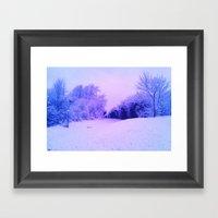 SnowBright Framed Art Print