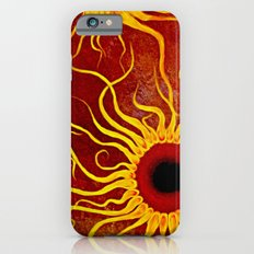 Psychedelic Susan 002, Sunflowers iPhone 6 Slim Case