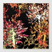 Collage pattern II Canvas Print