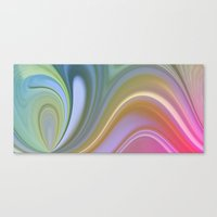 Rainbow Swirl  Canvas Print