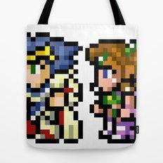 Final Fantasy II - Cecil and Rosa Tote Bag