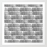 CAL STROKE Art Print