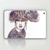 Fashion Sketches In Mixe… Laptop & iPad Skin