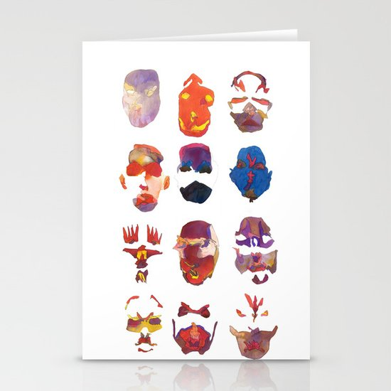 Masquerade Stationery Card