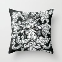 Phantom Throw Pillow