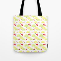 Summer Fruit Cocktail Tote Bag