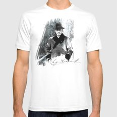 Rachmaninoff White SMALL Mens Fitted Tee