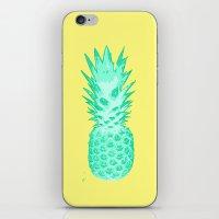 I Love Pineapples #2 iPhone & iPod Skin