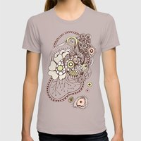 Tangled Roots Womens Fitted Tee Cinder SMALL