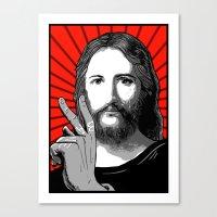 Jesus Bane #00 Canvas Print