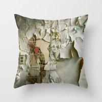 Detroit Kitsch Throw Pillow