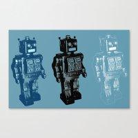 Automaton March Canvas Print