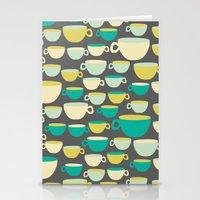 Coffee Mugs Stationery Cards
