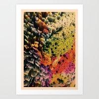 AQUART / PATTERN SERIES … Art Print