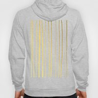 Vertical Living Navy and Gold Hoody