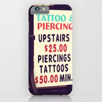 iPhone & iPod Case featuring Tattoo & Piercing by hcase