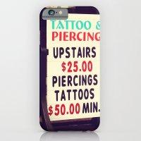 Tattoo & Piercing iPhone 6 Slim Case