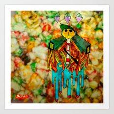 Calavera Dulce Art Print