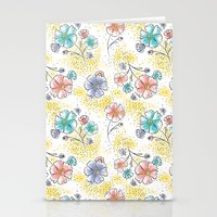 Brilliant Blooms Stationery Cards