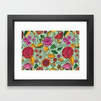 Garden Variety Framed Art Print