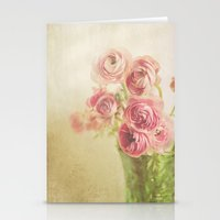 Beauty in a vase.... Stationery Cards