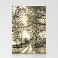 The Summer Farm Track Vi… Stationery Cards