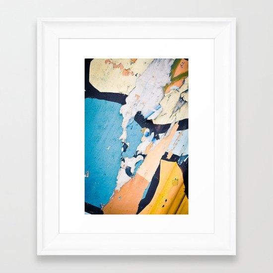 Urban (De)composition Framed Art Print